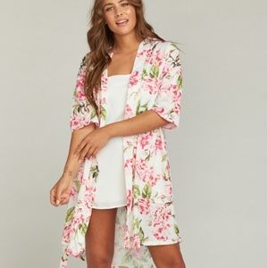 Show Me Your Mumu Brie Robe Garden of Blooms